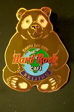 HRC Hard Rock Cafe Beijing Peking Earth Day 2000 Bear LE