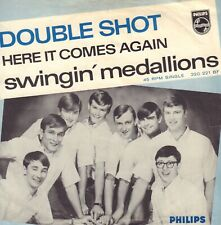 SWINGIN' MEDAILLONS – Double Shout (RARE 1966 DUTCH COVER, ONLY COVER/NO VINYL)