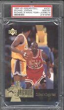 1995 UD #JC21 ** Michael Jordan ** MJ MAGIC YEAR INVESTMENT PSA 10 GEM MINT RARE