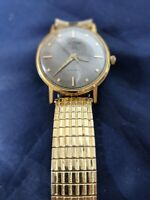Le Marc Vintage Men's 100 Automatic Wristwatch 20 Micron Gold Electroplated NICE