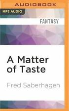 The New Dracula: A Matter of Taste 6 by Fred Saberhagen (2016, MP3 CD,...