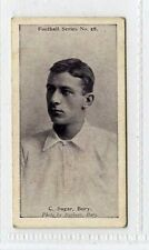 (Gx309-454) Wills, Football Series, #28 C.Sagar, Bury 1902 VG