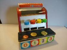 Fisher Price Cash Register 972 USA Made Vtg Great Working Condition No Coins