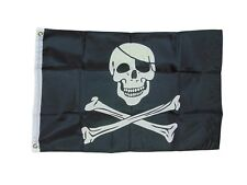 Traditional Pirate Skull And Bones Flag 2 X 3 2x3 Feet New Jolly Roger