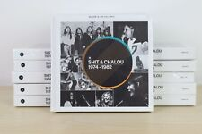 Shit & Chalou ‎– 1974-1982 5X CD Hard Book Set SEALED 2012 Denmark Pop/Folk Rock