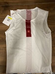 Castelli Pro issue Mesh Undervest Base Layer Sleeveless  Cycling Small brand new