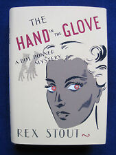 THE HAND IN THE GLOVE by REX STOUT 1st Ed 1st Print - His Only Female Detective