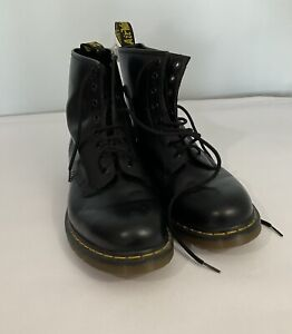 Dr Marten  Airwair  1460  Black Size 11 UK boots  Black With Bouncing Soles