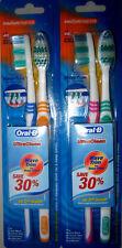 4 Stück ORAL -B Medium Ultra Clean Zahnbürste Zahnbürsten zum Sonderpreis