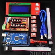 3D Printer Controller RAMPS 1.4 + Mega 2560 R3 + 5pcs A4988 + LCD 2004 Display