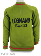LEGNANO PIRELLI vintage wool long sleeve jersey afee5a943