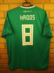 Kroos Germany Jersey 2018 2019 Away Size XL Shirt BR3144 Football Adidas Soccer