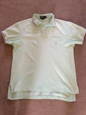 Polo by Ralph Lauren polo shirt custom fit mint green Large