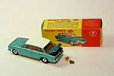 DINKY TOYS 135 TRIUMPH 2000 TWO TONE WITH RED INTERIOR IN ORIGINAL BOX .