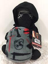 STAR WARS VII Kylo Ren Villian Character Super Plush Huggable /Throw Blanket Set