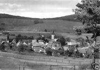 AK, Meura Thür. Wald, Teilansicht mit Kirche, 1981