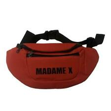 MADONNA - MADAME X TOUR BUM BAG OFFICIAL USA ONLY FANNY PACK RED NEW