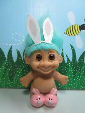 "Easter Rabbit/Bunny - 4 1/2"" Russ Troll Doll"