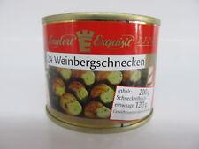 Weinberg Schnecken Weinbergschnecken Schneckenfleisch 24St. Füllm.200g/ATG 120g