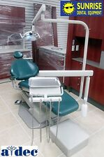 ADEC 1021 Decade Dental Operatory Package, Forest Green Factory Upholstery