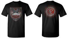 Ensiferum CD Lgo due corvi SCUDO Ufficiale shirt Lrg ferro da lontano thalassic