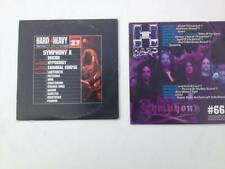 2 CD SAMPLERS SYMPHONY X from French hard rock magazines