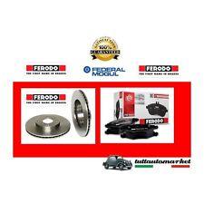 PEUGEOT 206 SW 1.4 HDI 68bhp Pastiglie Freno Anteriore /& Dischi 247mm VENTILATO