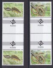 Aland postfrisch doppel Stegpaar MiNr. 199-200