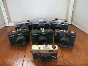 Lot of 7 Vintage 35mm Cameras
