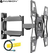 Invision Ultra Slim Tilt Swivel TV Wall Mount Bracket - For Most 26 - 60 Inch