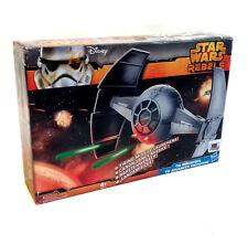 """STAR Wars Rebels Inquisitore Tie Fighter spedizione del veicolo per 4"""" Figure Giocattolo"""