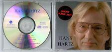 HANS HARTZ   - Nicht Käuflich   - rare Archiv-Maxi-CD 2002 Neuwertig/NM