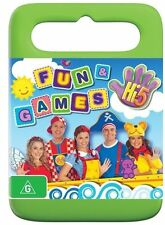 Hi-5: Fun and Games NEW R4 DVD