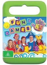 Hi-5: Fun and Games NEW R4 DVD