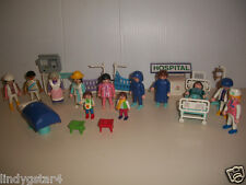 VINTAGE PLAYMOBIL, ACTION FIGURES & ACCESSORIES, GEOBRA, HOSPITAL SET, ANIMALS