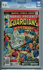 MARVEL PRESENTS #8 CGC 9.6 WHITE PAGES GUARDIANS OF THE GALAXY SILVER SURFER APP