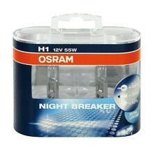 OSRAM COPPIA LAMPADE PER AUTO H1 NIGHT BREAKER PLUS + DURATA