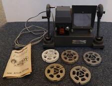 VINTAGE MANSFIELD 8 MM FILM EDITOR MODEL 650 R12006