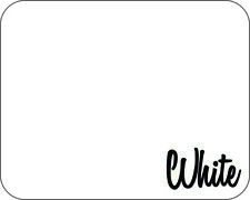 "12"" x 50 Yards - Stahls' Flock Heat Transfer Vinyl HTV - White"