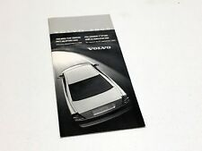 2000 Volvo S80 S70 V70 C70 Sedan Wagon Price & Option Guide Brochure