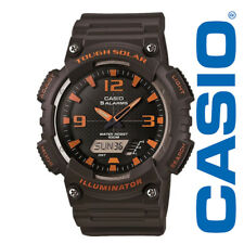 Casio Men's Tough Solar Illuminator Analog Digital, Grey Watch AQS810W-8AVCF