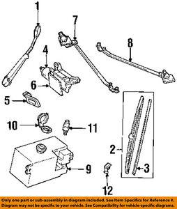 GM OEM Front Wiper-Washer Pump 89025062