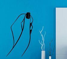 Hand Nagel Nail Studio Wandtattoo Wallpaper Wand Schmuck 57 x 90 cm Wandbild