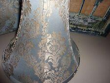NORDSTROM NAPOLEON BONNEVILLE AQUA BLUE GOLD CUTE LAMPSHADE