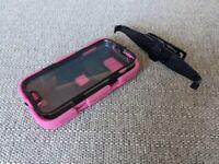 Case for Samsung Galaxy S4 - Rugged Griffin Survivor Heavy Duty Case + Belt Clip