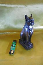 statuette chat egypte antique resine dure