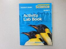 California Science Grade 3 Activity Lab Book Teacher's Guide New 0022812628