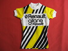 Maillot cycliste Renault Gitane Campagnolo Vintage cycling 70'S jersey - 5 ans