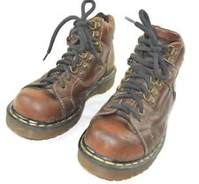 Dr Martens DM's Size 5 Brown 9343 Lace up Hiking Ankle Boots Leather