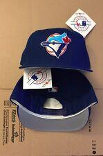e102fc09385 Vtg NWT Toronto blue Jays Snapback Hat Cap 90s 80s New Era USA Made World  Series